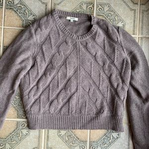 Madewell Cropped Sweater